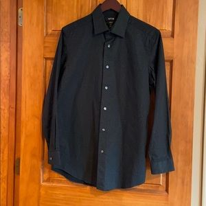 NWOT Slim Fit Black Button Down
